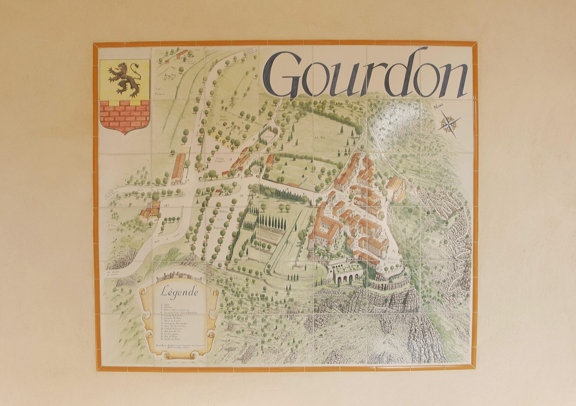 Gourdon map